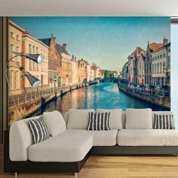 Fotomural canales de Venecia