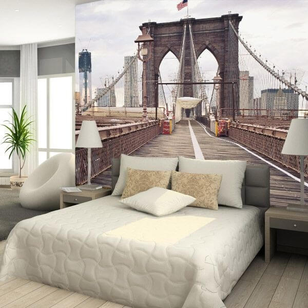 Decorativo puente de Brooklyn