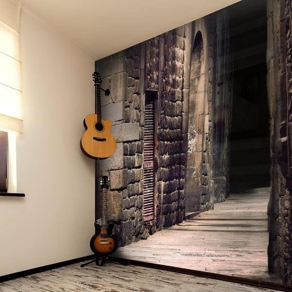 Mural en vinilo callejón 3