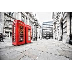 Fotomural cabinas telefónicas