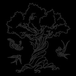 Vinilo árbol infantil