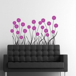 Vinilo flores 12