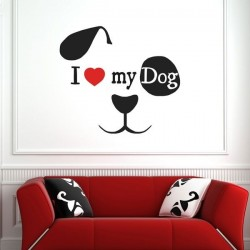Vinilo decorativo my dog