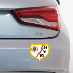Pegatina coche Rayo Vallecano