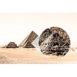 Fotomural pirámides vintage