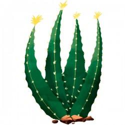Adhesivo cactus Haworthia fasciata