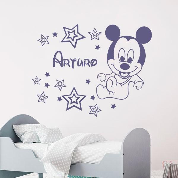 Vinilo Mickey Mouse bebé