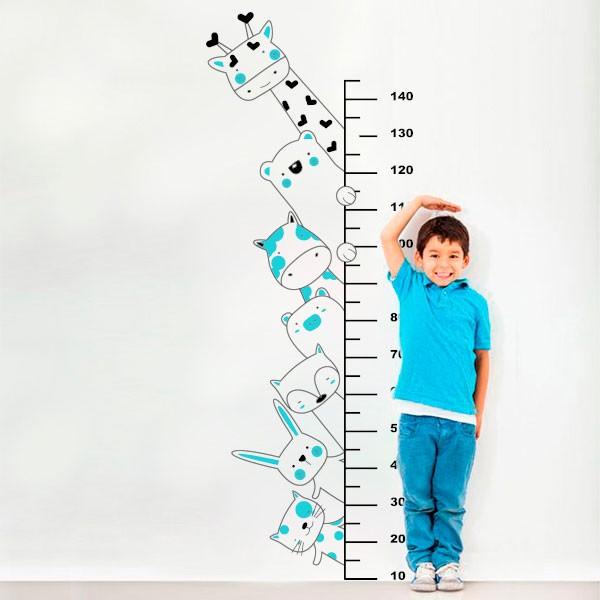 Vinilo regla medidora niño