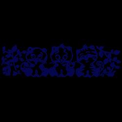 Adhesivo infantil tres gatitos