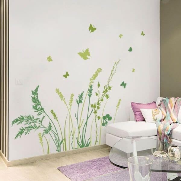 Adhesivo decorativo mariposas 1