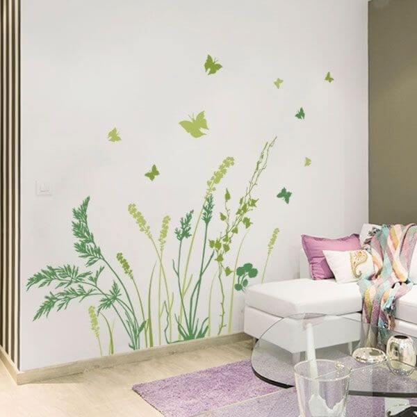 Adhesivo decorativo mariposas 1