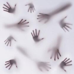 Vinilo decorativo manos