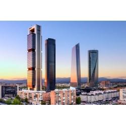 Fotomural rascacielos Madrid