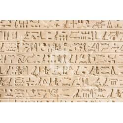 Mural de pared jeroglífico