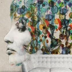 Mural decorativo ilustración 3