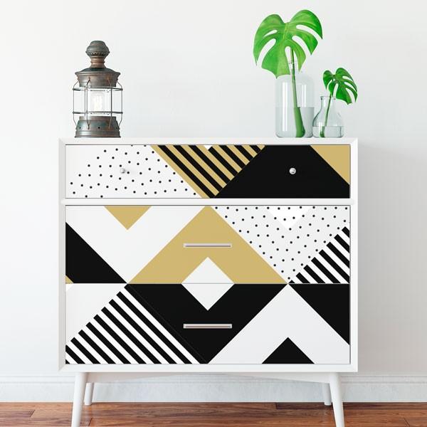 Vinilo mueble minimalista