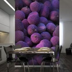 Mural de pared frutos...