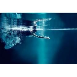 Fotomural natación