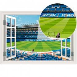 Ventana en vinilo Real Madrid