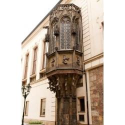 Mural de pared ventana gótica