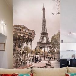 Fotomural carrusel en París