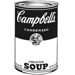 Vinilo arte pop Campbell s soup