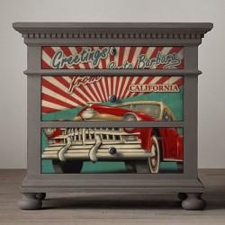 Adhesivo muebles coche...