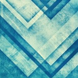 Vinilo para muebles metal azul