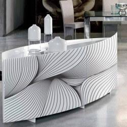 Vinilo para muebles líneas abstractas