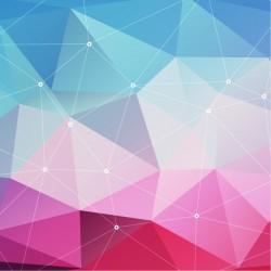 Vinilo para cómodas triángulos 3D