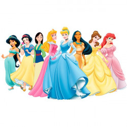 Vinilo princesas Disney