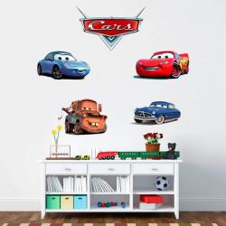 Pegatinas de pared Cars Disney