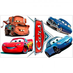 Pegatinas de pared Cars Disney