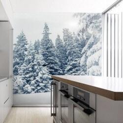 Fotomural paisaje invernal