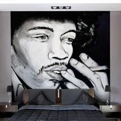 Mural de pared Jimi Hendrix
