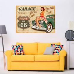 Poster vintage garage