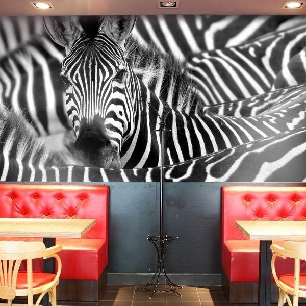 Mural en vinilo cebras