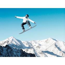 Fotomural snowboard