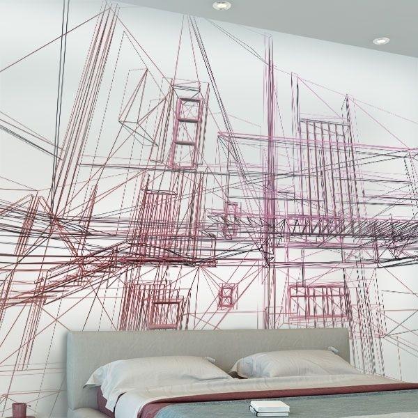Mural líneas de proyecto