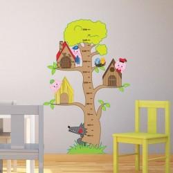 Vinilo infantil árbol 3...