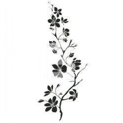 Vinilo adhesivo floral 20