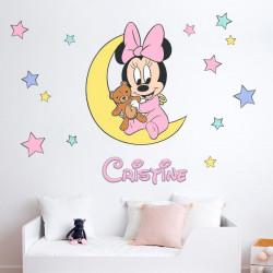 Vinilo Minnie Mouse personalizado