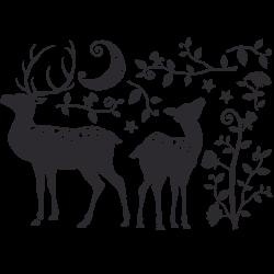 Vinilo decorativo gacelas