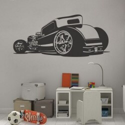 Adhesivo decorativo Hot Rod 2