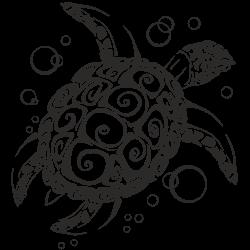 Vinilo decorativo tortuga