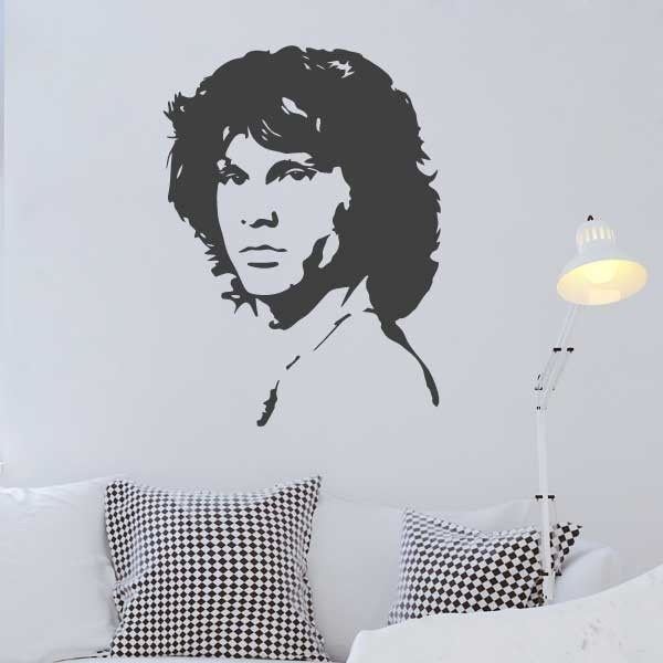 Vinilo de pared Jim Morrison