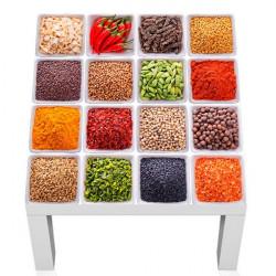 Adhesivo especias y verduras