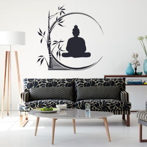 Vinilo Buda zen