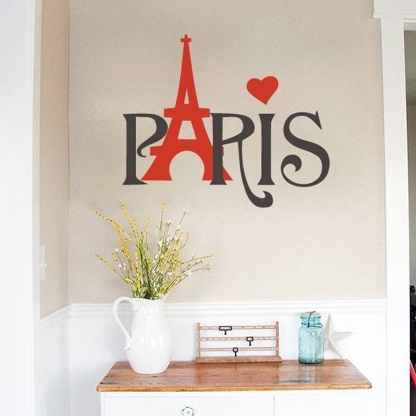 Adhesivo París Torre Eiffel