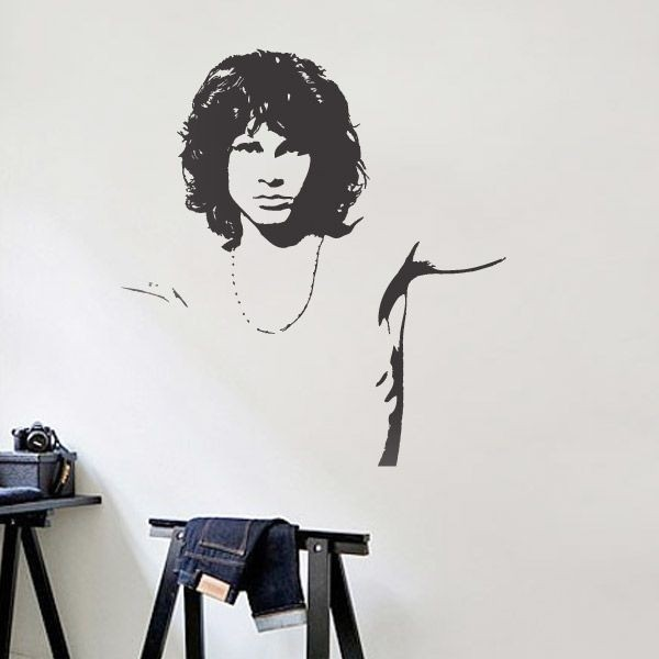 Adhesivo de Jim Morrison 2